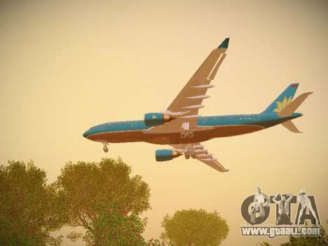 Airbus A330-200 Vietnam Airlines for GTA San Andreas engine