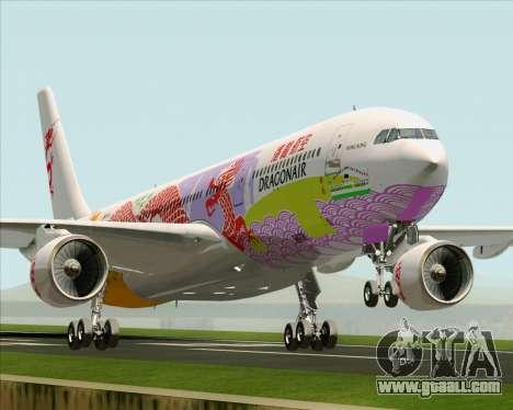 Airbus A330-300 Dragonair (20th Year Livery) for GTA San Andreas
