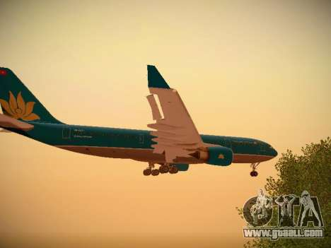 Airbus A330-200 Vietnam Airlines for GTA San Andreas interior