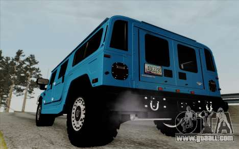 Hummer H1 Alpha 2006 Road version for GTA San Andreas right view