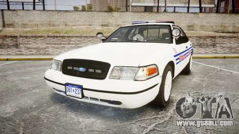 Ford Crown Victoria Alderney Police [ELS] for GTA 4