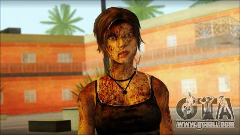 Tomb Raider Skin 13 2013 for GTA San Andreas third screenshot