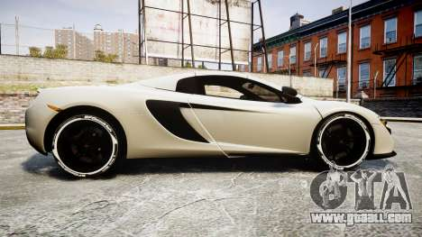 McLaren 650S Spider 2014 [EPM] BFGoodrich for GTA 4 left view
