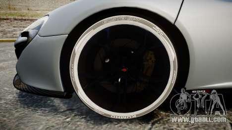 McLaren 650S Spider 2014 [EPM] KUMHO for GTA 4 back view