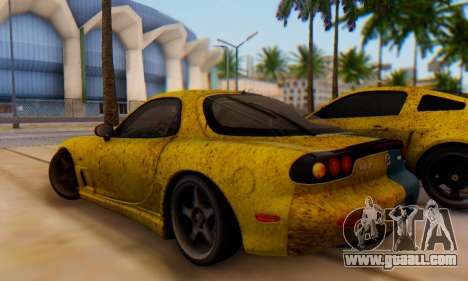Mazda RX-7 UA PJ for GTA San Andreas back left view