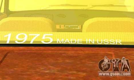 VAZ 2101 Rat-look for GTA San Andreas back view