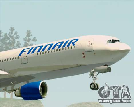 Airbus A330-300 Finnair (Old Livery) for GTA San Andreas side view