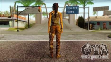 Tomb Raider Skin 8 2013 for GTA San Andreas second screenshot