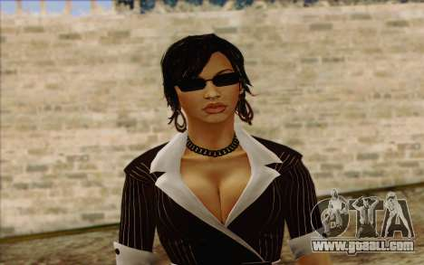 Candy from Batman Arkham Origins for GTA San Andreas third screenshot