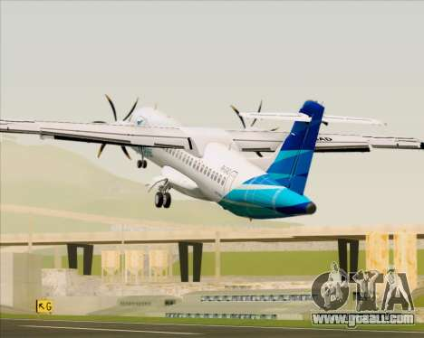 ATR 72-500 Garuda Indonesia Explore for GTA San Andreas engine