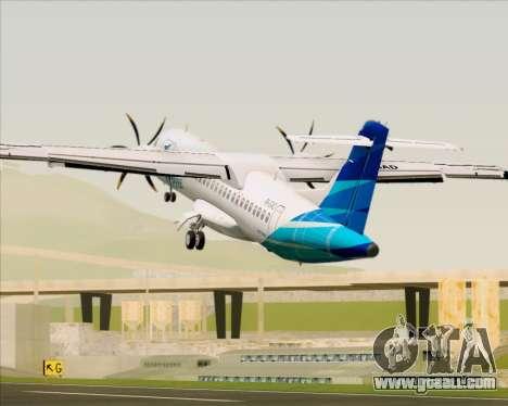 ATR 72-500 Garuda Indonesia Explore for GTA San Andreas engine