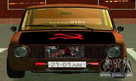VAZ 2101 Rat-look for GTA San Andreas inner view
