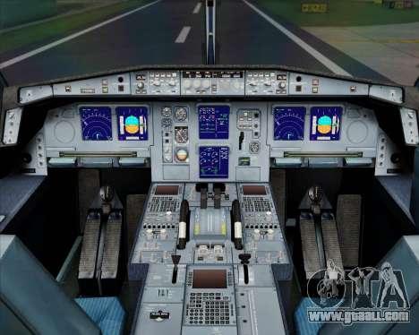 Airbus A330-300 Air China for GTA San Andreas interior
