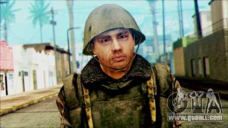 Soldier SA (WIC) for GTA San Andreas third screenshot