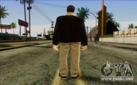 Russian Cats II Skin 2 for GTA San Andreas second screenshot
