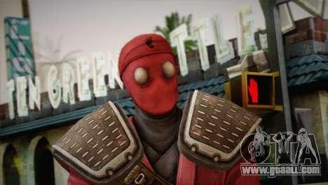 Foot Soldier Elite v1 for GTA San Andreas third screenshot