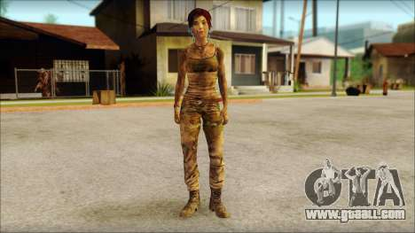 Tomb Raider Skin 10 2013 for GTA San Andreas