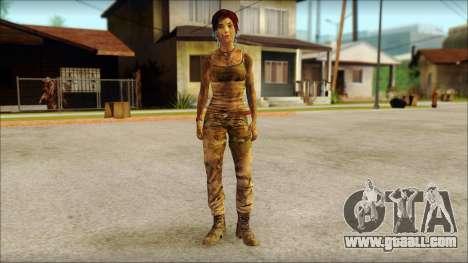 Tomb Raider Skin 10 2013 for GTA San Andreas