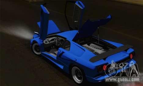 Lamborghini Diablo SV 1995 (ImVehFT) for GTA San Andreas interior