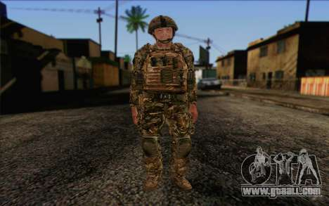 British soldiers (ArmA II: BAF) v3 for GTA San Andreas