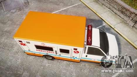 GTA V Brute Ambulance [ELS] for GTA 4 right view