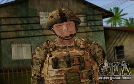 British soldiers (ArmA II: BAF) v3 for GTA San Andreas third screenshot