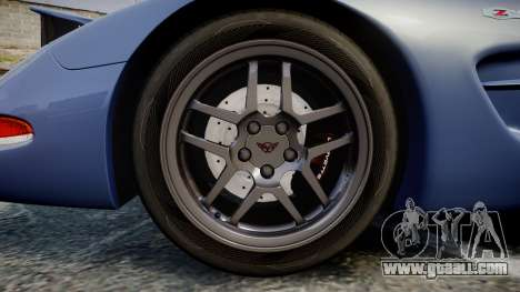 Chevrolet Corvette Z06 (C5) 2002 v2.0 for GTA 4 back view