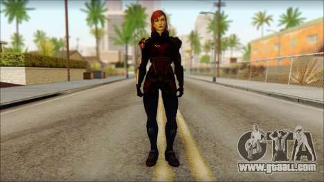 Mass Effect Anna Skin v2 for GTA San Andreas