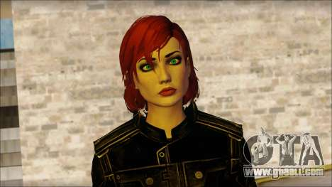 Mass Effect Anna Skin v4 for GTA San Andreas third screenshot