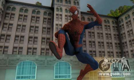 The Amazing Spider Man 2 Oficial Skin for GTA San Andreas second screenshot