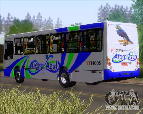Marcopolo Torino 2007 Mercedes-Benz OF-1418 for GTA San Andreas right view