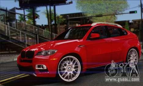 BMW X6M 2013 v3.0 for GTA San Andreas