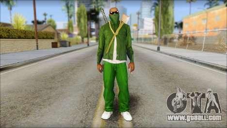 New CJ v5 for GTA San Andreas
