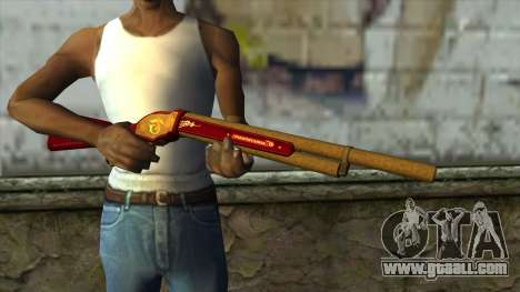 M1887 from PointBlank v1 for GTA San Andreas third screenshot