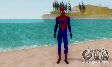 Skin The Amazing Spider Man 2 - Ben Reily for GTA San Andreas second screenshot