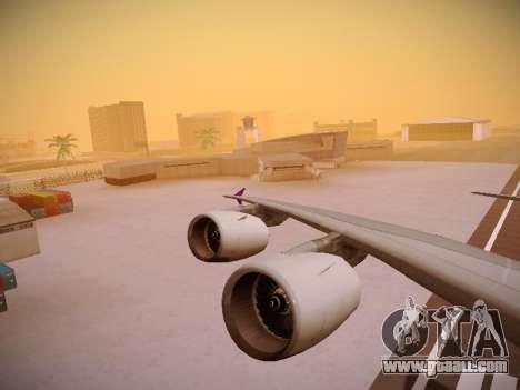 Airbus A380-800 Thai Airways International for GTA San Andreas engine