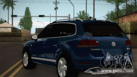 Volkswagen Touareg 2012 for GTA San Andreas left view