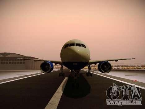 Boeing 777-212ER Transaero Airlines for GTA San Andreas wheels