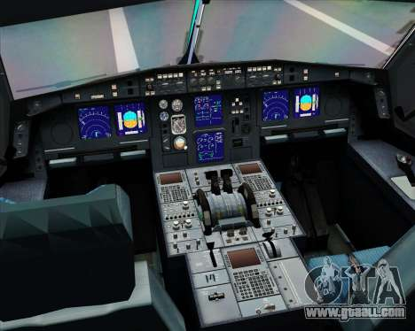 Airbus A330-300 Aer Lingus for GTA San Andreas interior