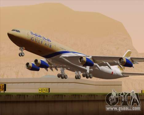 Airbus A340-313 Gulf Air for GTA San Andreas