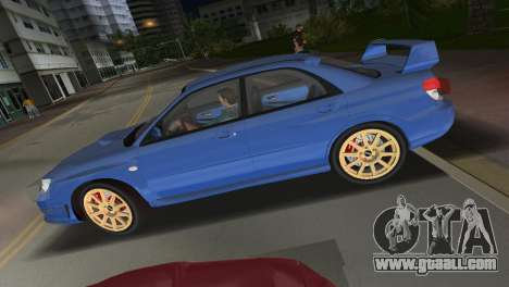 Subaru Impreza WRX STI 2006 Type 1 for GTA Vice City right view