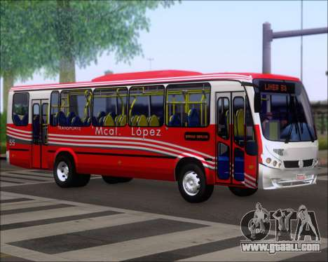 Neobus Spectrum Linea 38 Mcal. Lopez for GTA San Andreas