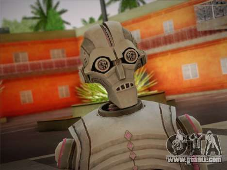 Kraang Robot for GTA San Andreas third screenshot