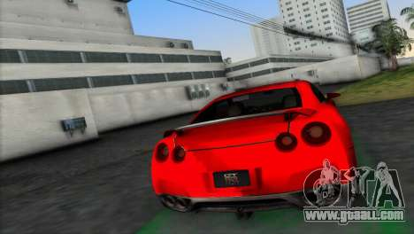 Nissan GT-R Prototype for GTA Vice City left view