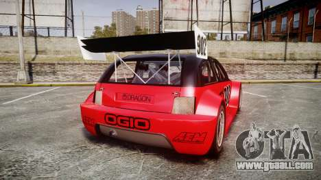 Zenden Cup Ogio for GTA 4 back left view