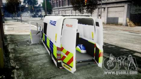 Mercedes-Benz Sprinter Police 2014 for GTA 4 right view