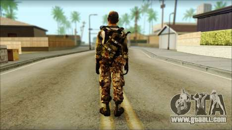 Taliban Resurrection Skin from COD 5 for GTA San Andreas second screenshot