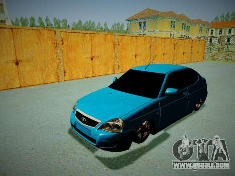 Lada Priora Coupe for GTA San Andreas back view