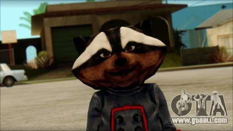 Guardians of the Galaxy Rocket Raccoon v1 for GTA San Andreas third screenshot