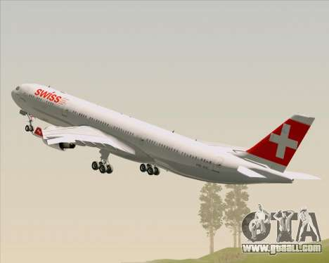 Airbus A330-300 Swiss International Air Lines for GTA San Andreas